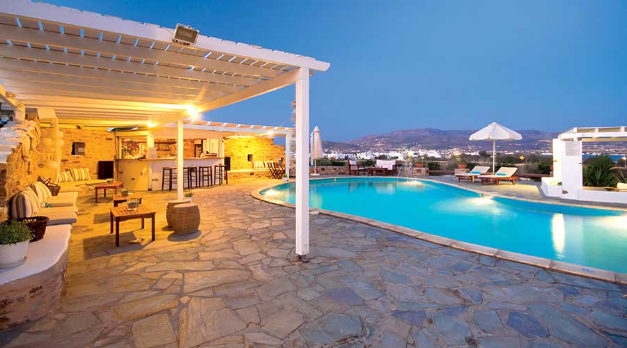 Kastro Hotel in Antiparos | Oliaros Tours in Antiparos