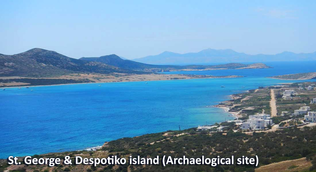 Bus services in Antiparos | Oliaros Tours