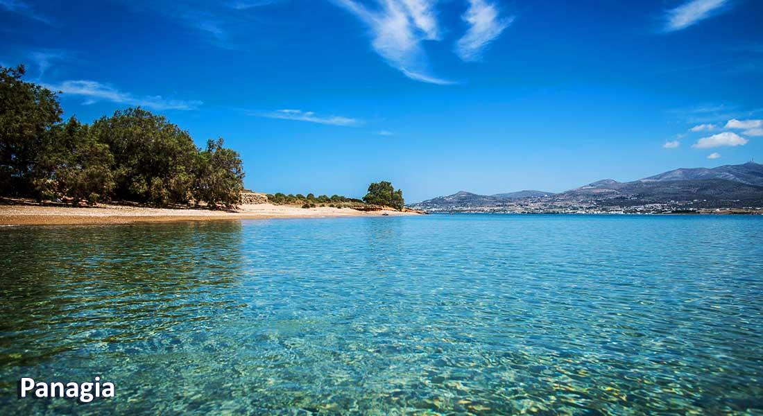 Bus services in Antiparos | Oliaros Tours