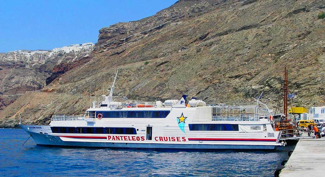 One Day Cruises | Oliaros Tours