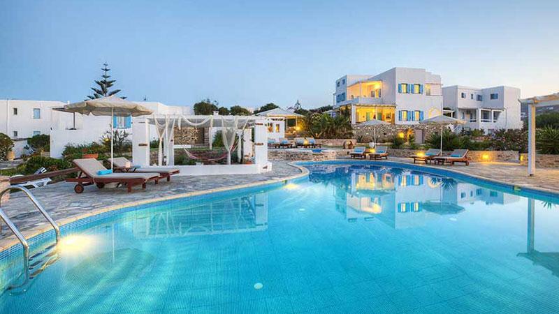 Accommodation in Antiparos | Oliaros Tours in Antiparos