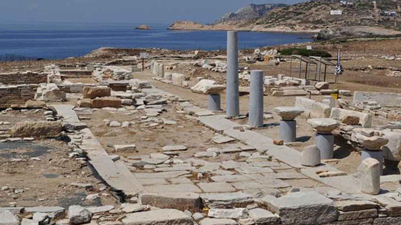 Guided Tour to Despotiko island | Oliaros Tours in Antiparos